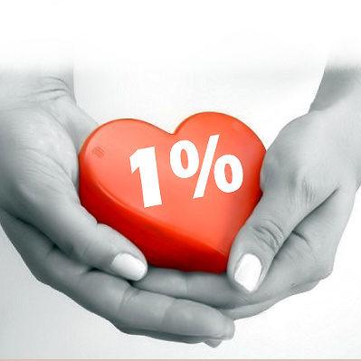 Serce 1%